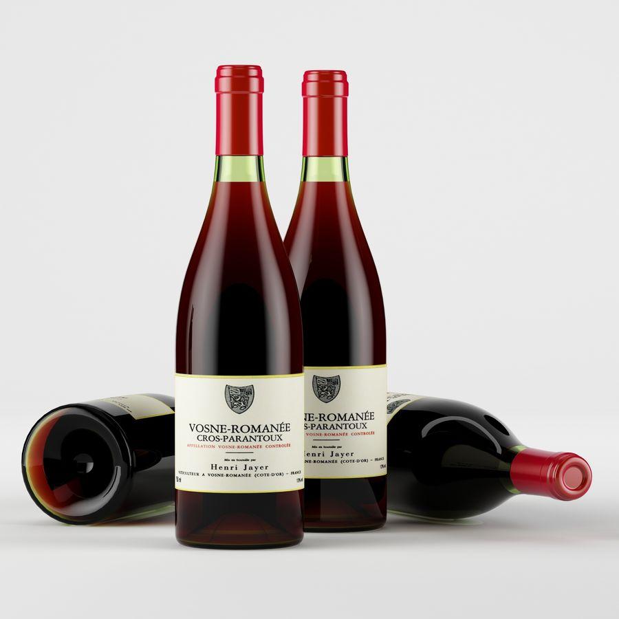 와인 14 병 12 종류의 와인 잔, 트레이, 와인 홀더 \ 스탠드 (Vray and Corona render) royalty-free 3d model - Preview no. 28