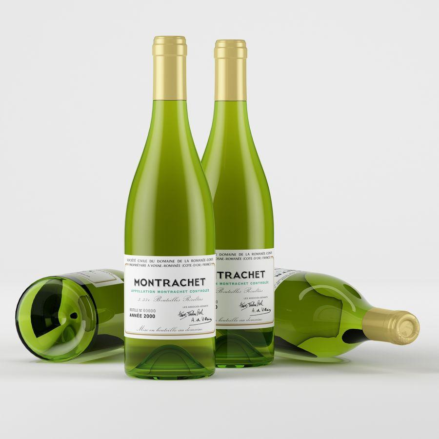와인 14 병 12 종류의 와인 잔, 트레이, 와인 홀더 \ 스탠드 (Vray and Corona render) royalty-free 3d model - Preview no. 23