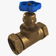Smutsig ventil 3d model