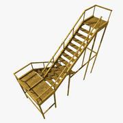Accessoires de jeu: Metal Ladder 3d model