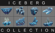 Iceberg Collection 3d model