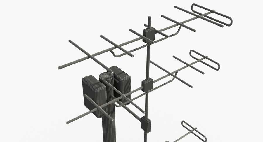 Antenna 2 royalty-free 3d model - Preview no. 11