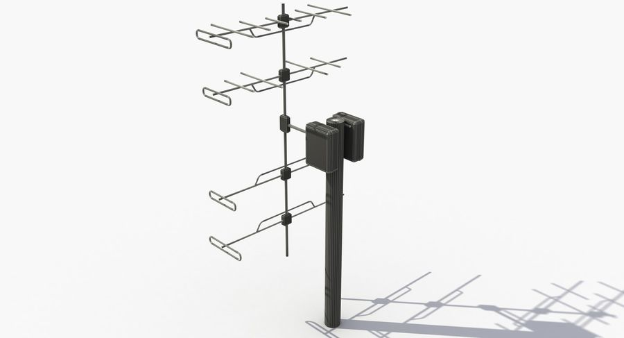 Antenna 2 royalty-free 3d model - Preview no. 9