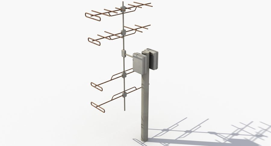Antenna 2 royalty-free 3d model - Preview no. 4