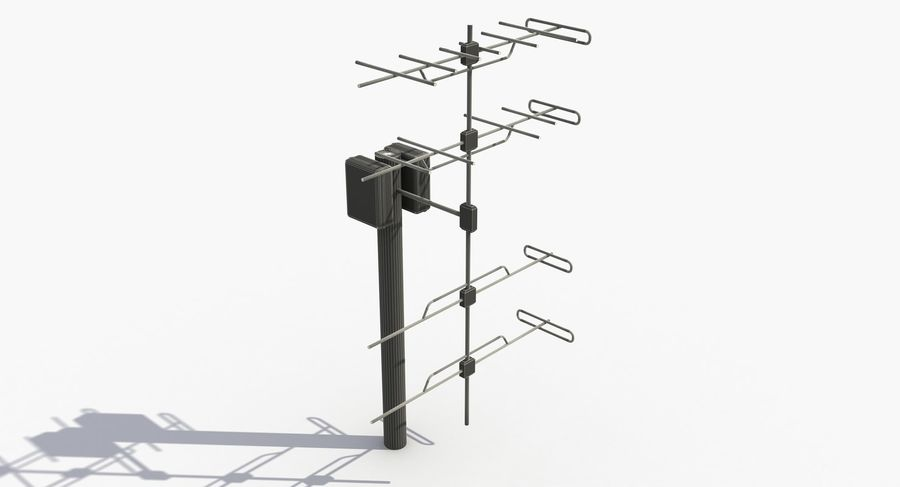 Antenna 2 royalty-free 3d model - Preview no. 10