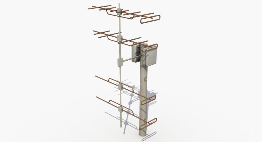 Antenna 2 royalty-free 3d model - Preview no. 3