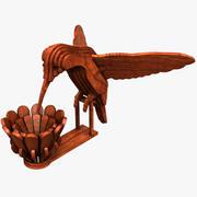Kolibri 3d model