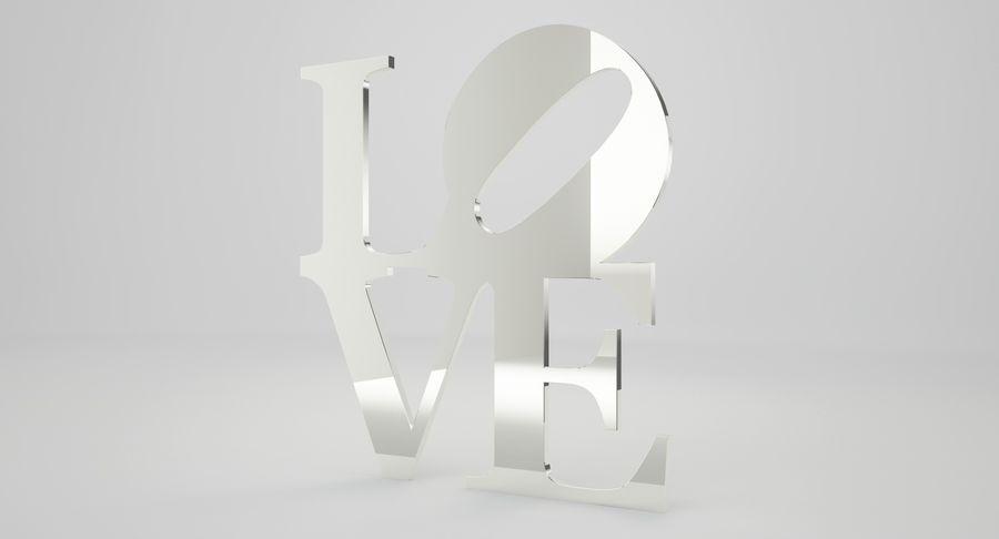 Espejo amor royalty-free modelo 3d - Preview no. 6