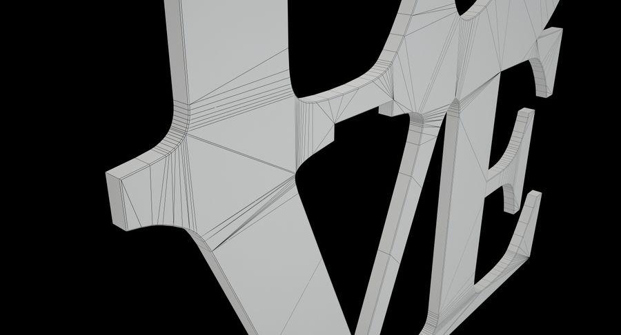 Espejo amor royalty-free modelo 3d - Preview no. 10