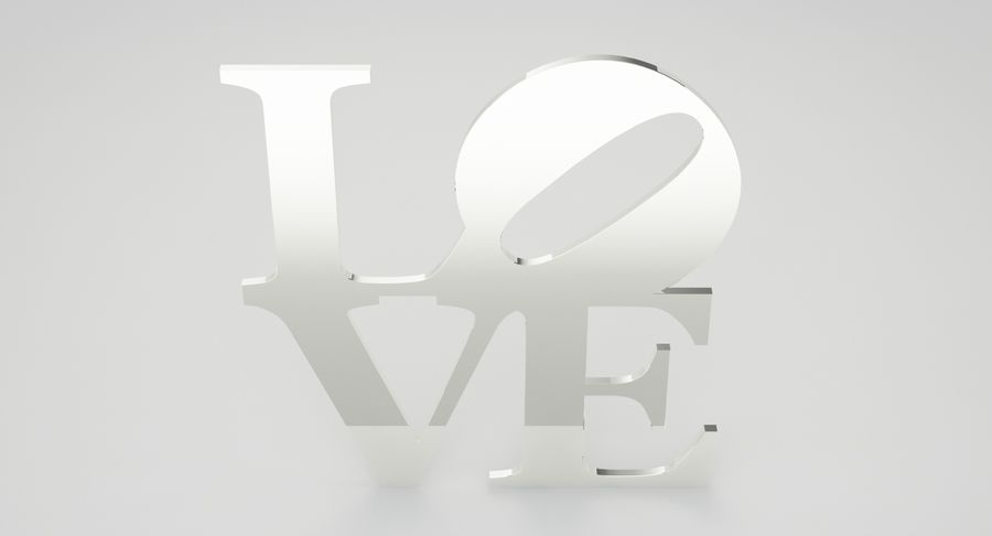 Espejo amor royalty-free modelo 3d - Preview no. 8