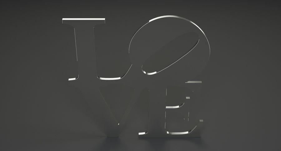 Espejo amor royalty-free modelo 3d - Preview no. 5