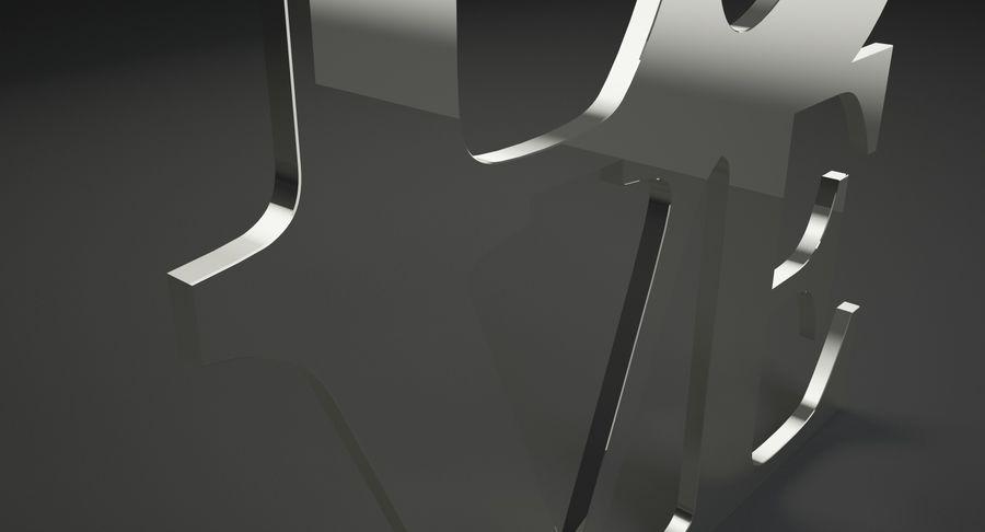 Espejo amor royalty-free modelo 3d - Preview no. 4