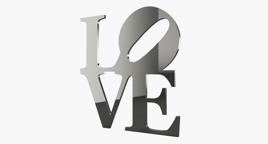 Espejo amor royalty-free modelo 3d - Preview no. 2