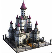 Fantasy Castle V1 3d model