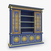 Этнический шкаф 3d model