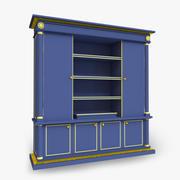 Основной шкаф 3d model