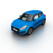 铃木雨燕2017 3d model