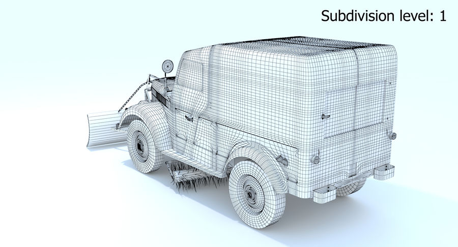 GAZ-69 T3 (1953-1973) royalty-free 3d model - Preview no. 17
