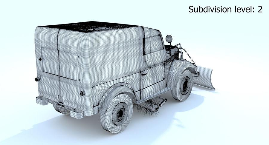 ГАЗ-69 Т3 (1953-1973) royalty-free 3d model - Preview no. 20