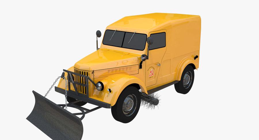 ГАЗ-69 Т3 (1953-1973) royalty-free 3d model - Preview no. 2