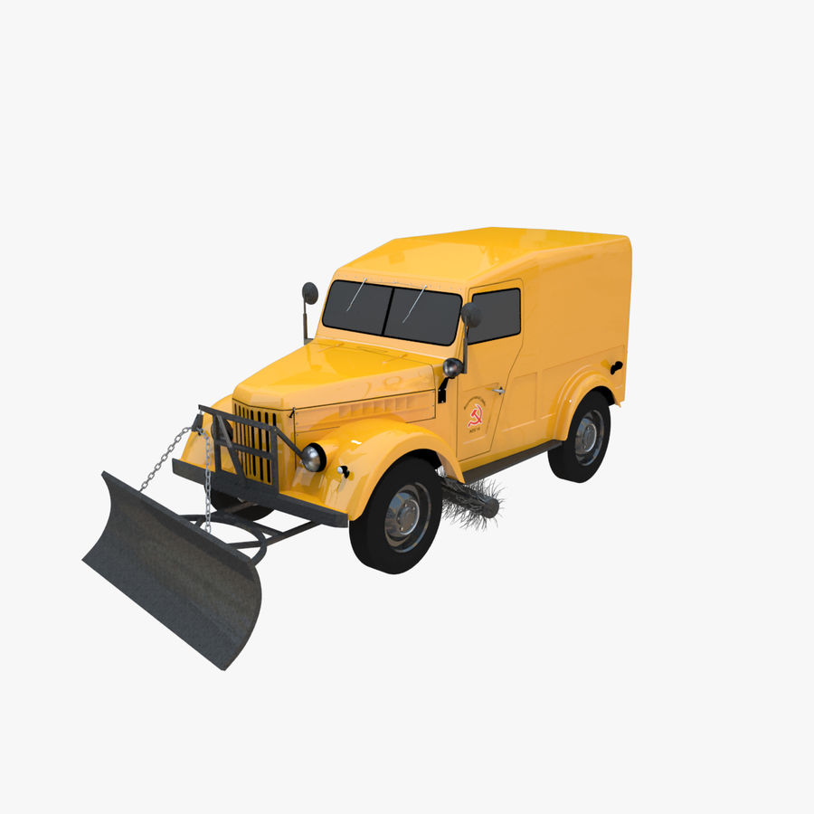 GAZ-69 T3 (1953-1973) royalty-free 3d model - Preview no. 1