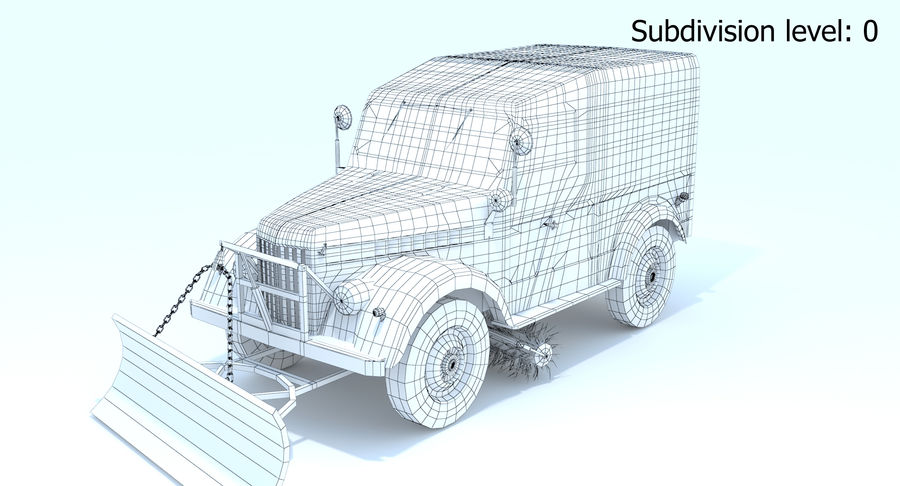 GAZ-69 T3 (1953-1973) royalty-free 3d model - Preview no. 14