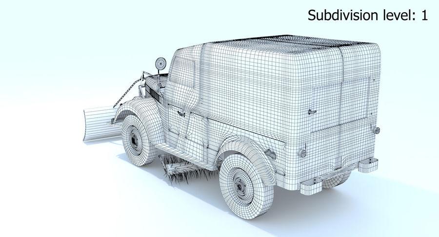 ГАЗ-69 Т3 (1953-1973) royalty-free 3d model - Preview no. 17