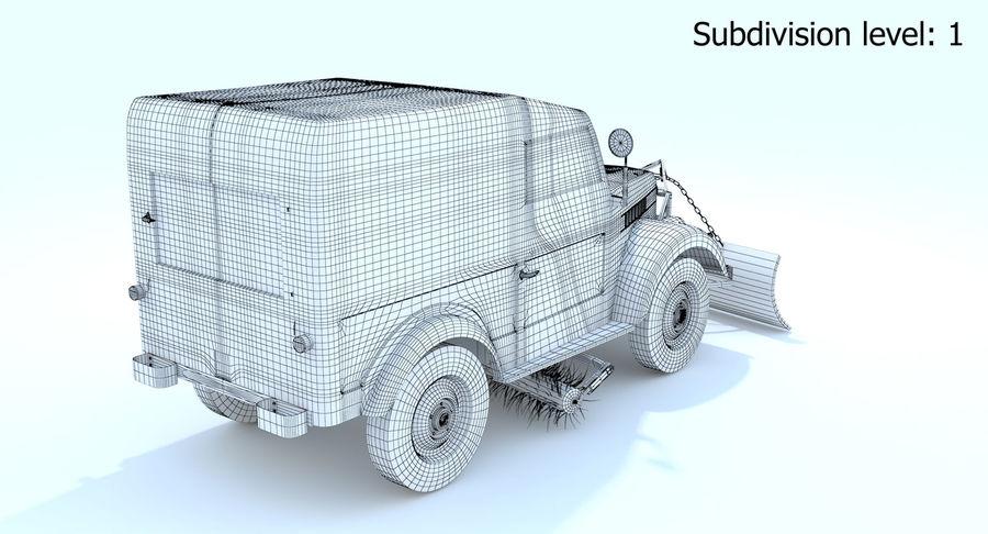 ГАЗ-69 Т3 (1953-1973) royalty-free 3d model - Preview no. 16