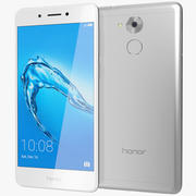 Honor 6C Silver 3d model