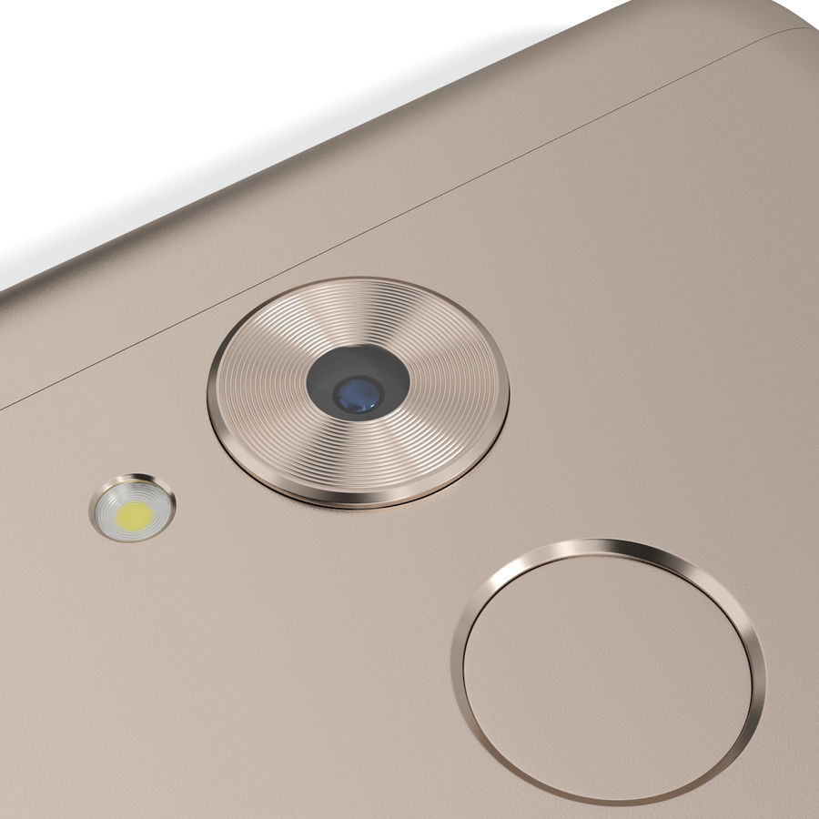 Honor 6C Gold royalty-free 3d model - Preview no. 13