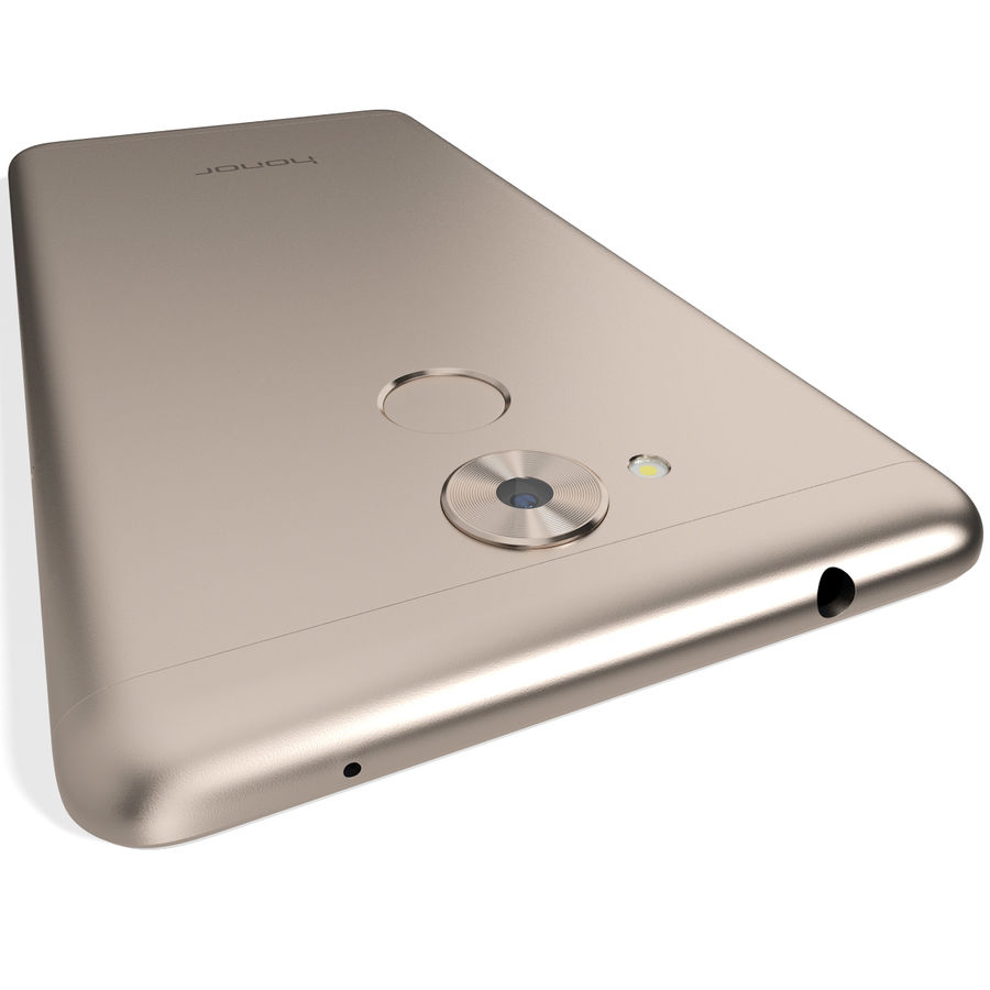 Honor 6C Gold royalty-free 3d model - Preview no. 8