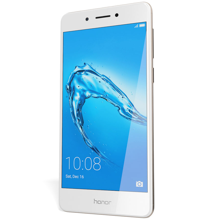 Honor 6C Gold royalty-free 3d model - Preview no. 5