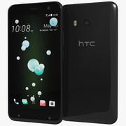 HTC U11 Brilliant Black 3d model