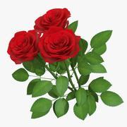 Rose Bouquet 3 01 3d model