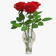 Rose Bouquet 3 02 3d model