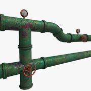 Jogo adereços: sistema de tubulações de água 3d model