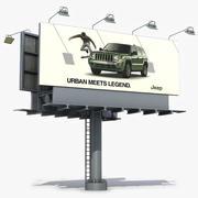 Billboard 5 3d model