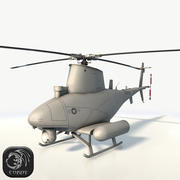 MQ-8 Fire Scout Drone 3d model