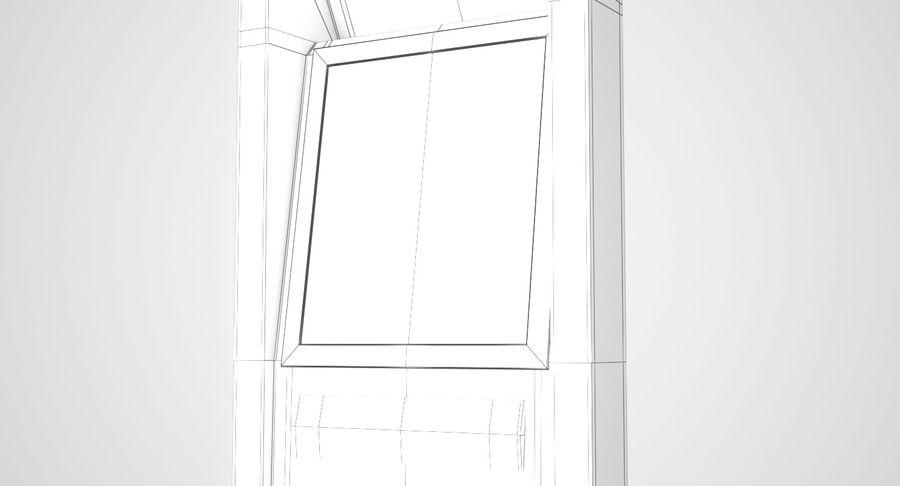 Panel sterowania windą royalty-free 3d model - Preview no. 7