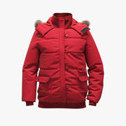 Red Jacket 3d model