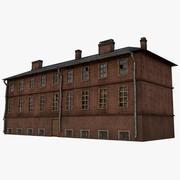 Stary budynek 3d model