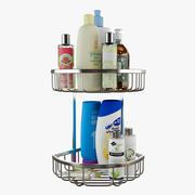 Étagères de douche de salle de bains 3d model