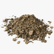 Realistic Soil Ground Pile 2 3d model
