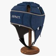 Impact Rugby huvudbonader 3d model
