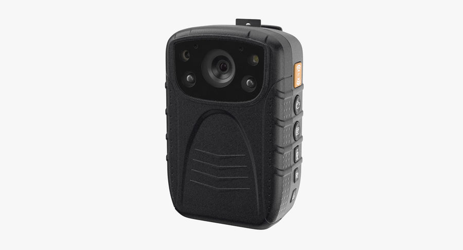Body Cam royalty-free 3d model - Preview no. 2