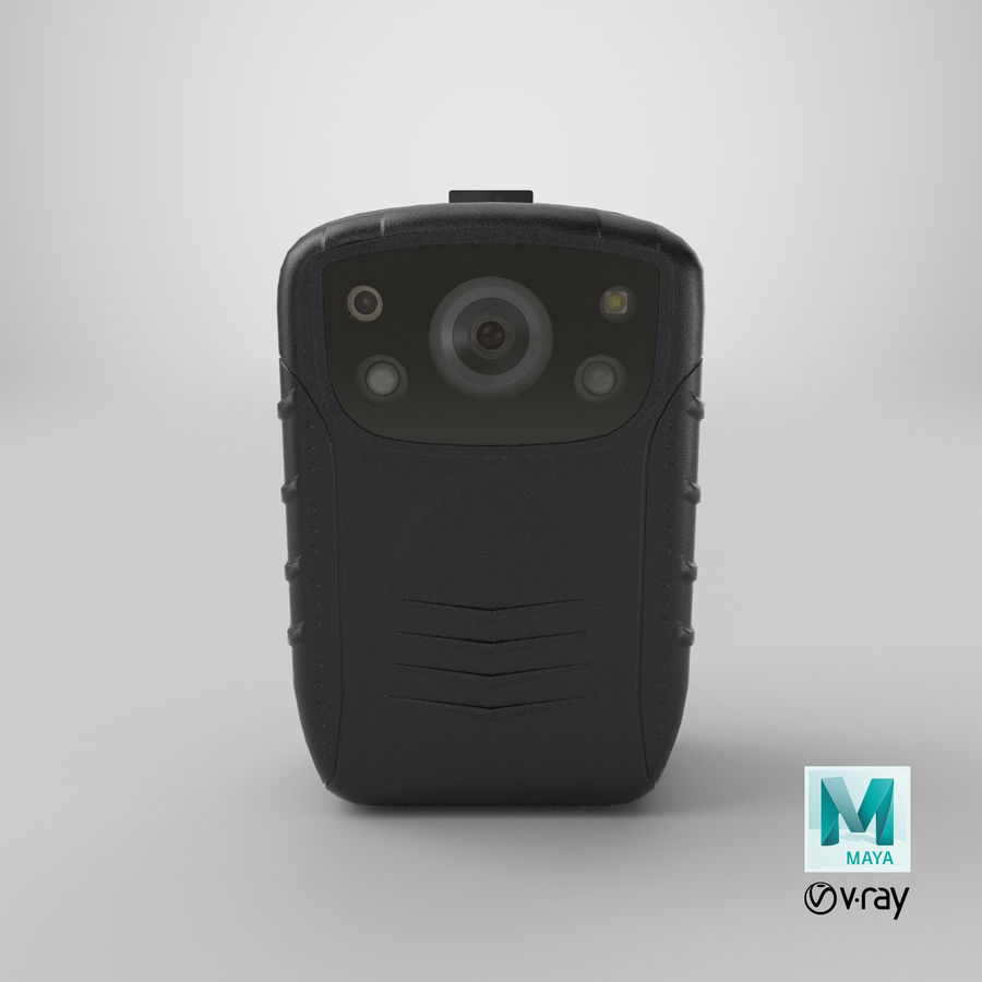 Body Cam royalty-free 3d model - Preview no. 21