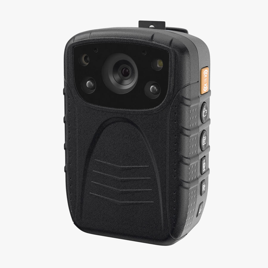 Body Cam royalty-free 3d model - Preview no. 1
