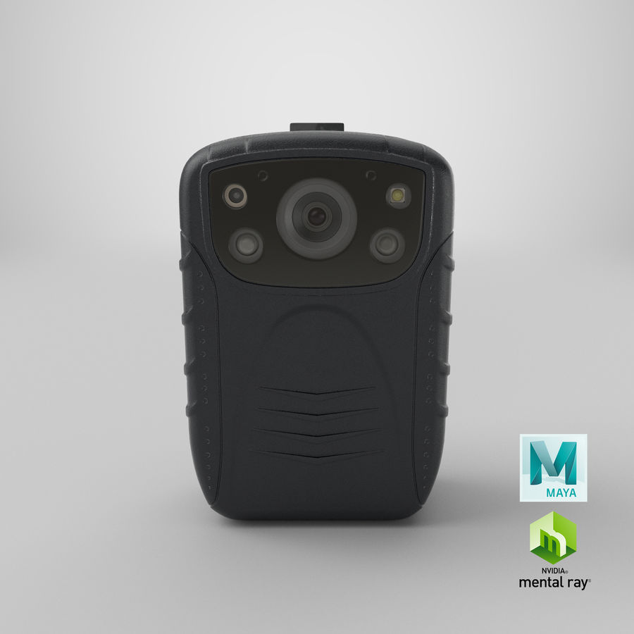 Body Cam royalty-free 3d model - Preview no. 22