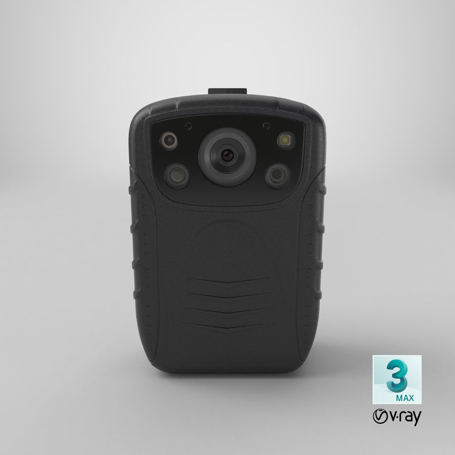 Body Cam royalty-free 3d model - Preview no. 23