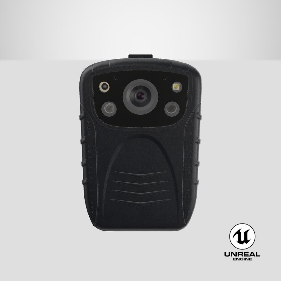 Body Cam royalty-free 3d model - Preview no. 26